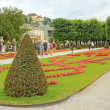 Mirabell gardens in Salzburg, Austria — Stock Photo #30037099