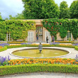 Mirabell gardens in Salzburg, Austria. — Stock Photo