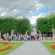 Mirabell gardens in Salzburg, Austria. — Stock Photo #30037735