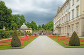 Mirabell Gardens in Salzburg, Austria — Stock Photo