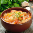 Sauerkraut soup — Stock Photo #32944735