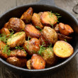 Roasted potato — Stock Photo