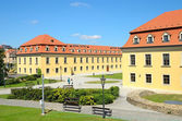 Courtyard of Bratislava Castle — Stock Photo