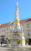 Plague Column in Baden bei Wien, Austria. — Stock Photo