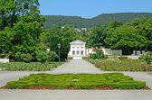 View of Rosarium in Baden bei Wien, Austria — Foto de Stock