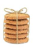 Biscoitos de aveia — Foto Stock