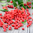 Stock Photo: Cowberries on table
