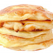Homemade cheese pancakes — Stock Photo