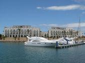 Boats at the Marina — Stock Photo