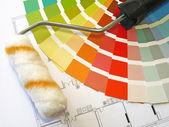 Boya renk — Stok fotoğraf