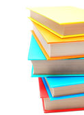 Multi-coloured books. School. — Stock Photo