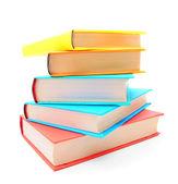 Wielobarwne książek. — Zdjęcie stockowe