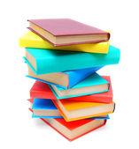 Bunte Bücher. — Stockfoto
