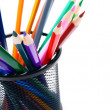 Multi - coloured pencils. — Stock Photo