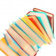 Multi-coloured books. — Stock Photo #12899214