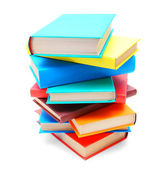 Multi-coloured books. School . — Foto de Stock
