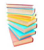 Multi-coloured books. School . — Foto de Stock