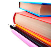 Books and pencils. — Stock Photo