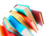 Libri multicolori. — Foto Stock