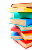 Multi - coloured books. — Stock Photo