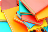 Many multi-coloured books. — Stock Photo