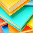 Multi-coloured books. — Stockfoto