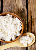 Cottage cheese — Stockfoto