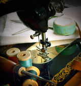 Sewing. — Stock Photo
