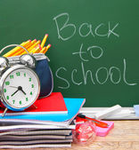 Zpátky do školy. — Stock fotografie