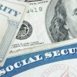 Stock Photo: Social security cards