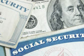 Social security cards — Stock Photo