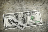 Healthcare cash — Stock Photo