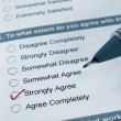 Stock Photo: Business survey