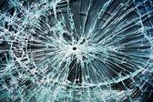 Glass break — Stock Photo