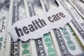 Health care cash — Stock Photo