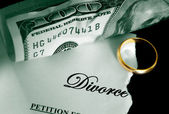 The Divorce — Stock Photo