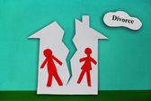 Casa dividida — Foto de Stock