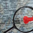 New York map — Stock Photo #40491781