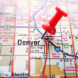 Denver map — Stock Photo #42731037