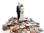 Coin couple — Stock Photo