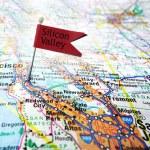 Silicon Valley flag — Stock Photo #45945793