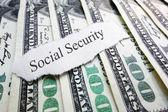 Sociální zabezpečení — Stock fotografie