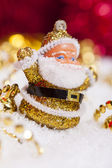 Santa Claus figurine — Stock Photo
