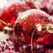 Red Christmas decoration — Stock Photo #14620907