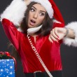 Stock Photo: Running out of time on Christmas Eve