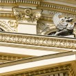 Stock Photo: Architectural detail with griffin