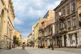 散步在布加勒斯特历史中心 — 图库照片