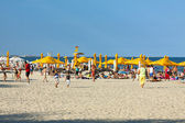 Mamaia beach, Romania — Stock Photo