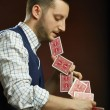 Stock Photo: Skillful magician