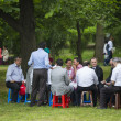 Socializing at Turkish festival — Stock Photo #28540861